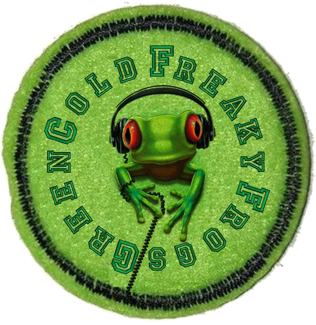 Green Cold Freaky Frog